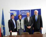 Ambasadorul Republicii Polone în România, vizită oficială la Prefectura Suceava