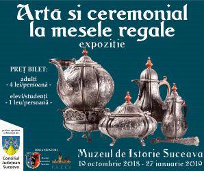 Arta si ceremonial la mesele regale