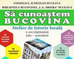 Ateliere de istorie locală, la Biblioteca Bucovinei