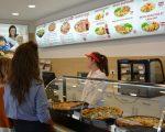 """""""Aroma"""", o locație unde te poți delecta cu pizza delicioasă, în food court Iulius Mall Suceava"""