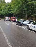 Accident cu șase răniți, pe raza localității Ilișești