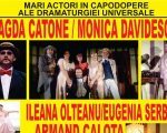 Actori de la Teatrul Național din București, pe scena dorneană
