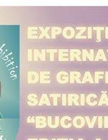 Expoziţia Internaţională de Grafică Satirică BUCOVINA, ediţia a XI-a, 2017