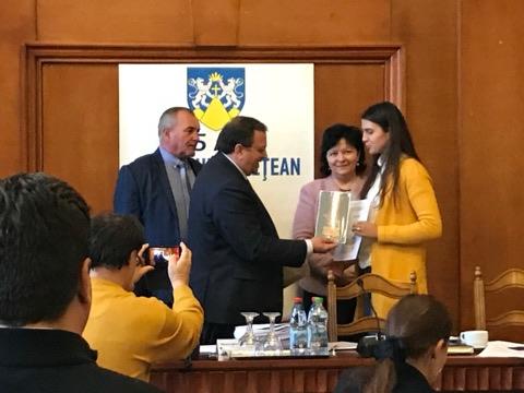 Campionii mondiali și europeni ai județului, premiați de CJ