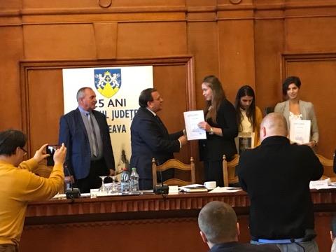Campionii mondiali și europeni ai județului Suceava, premiați de CJ