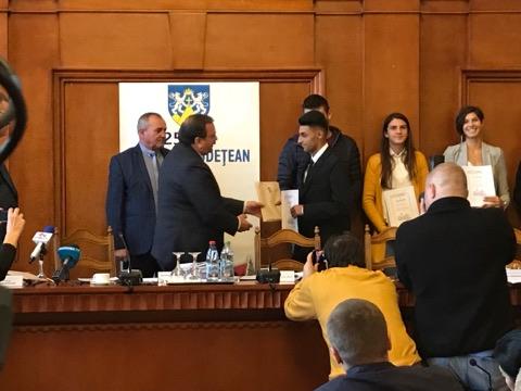 Campionii mondiali și europeni ai județului Suceava, premiați de CJ Suceava