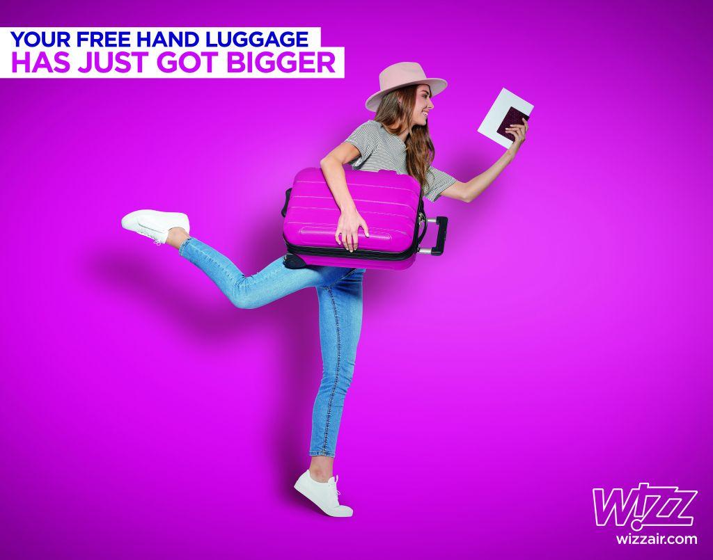 Wizz Air a introdus noua politică de bagaje