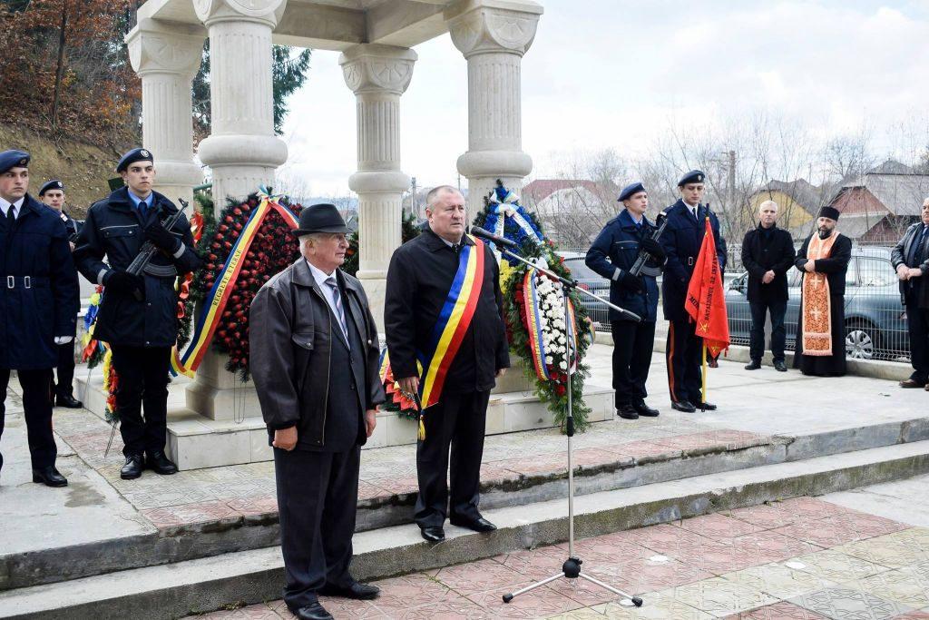 Slujbă de comemorare a sublocotenentului Ioan Grosaru, oficiată de Ziua Veteranilor