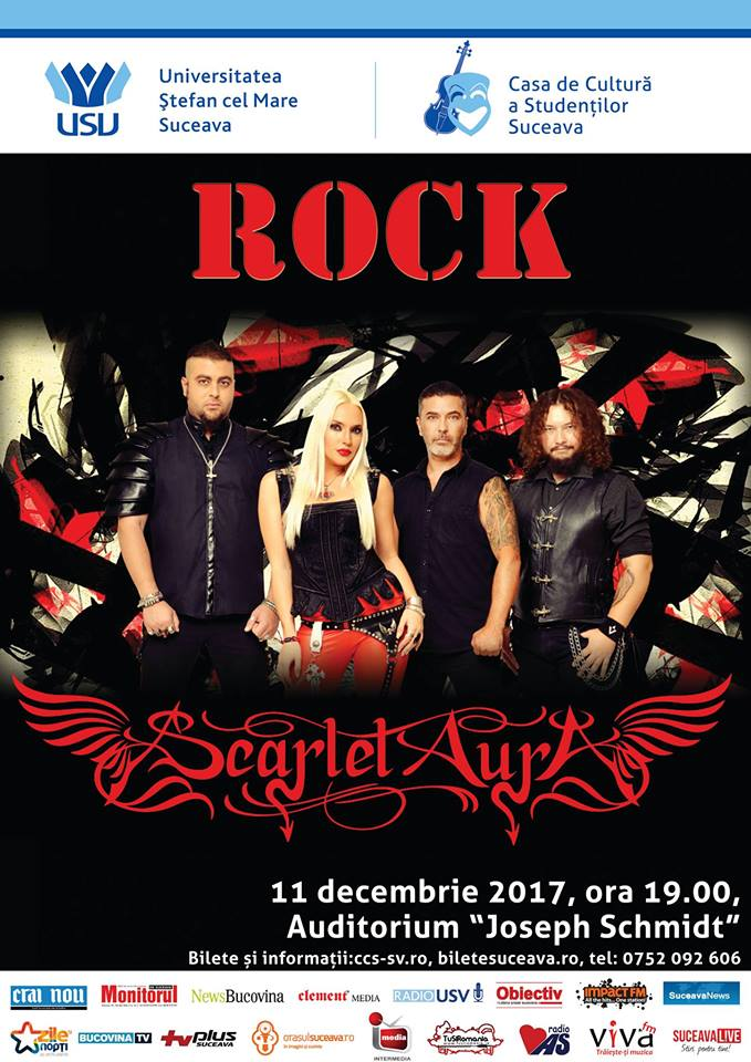 """Concert de muzică rock, la Auditorium """"Joseph Schmidt"""""""