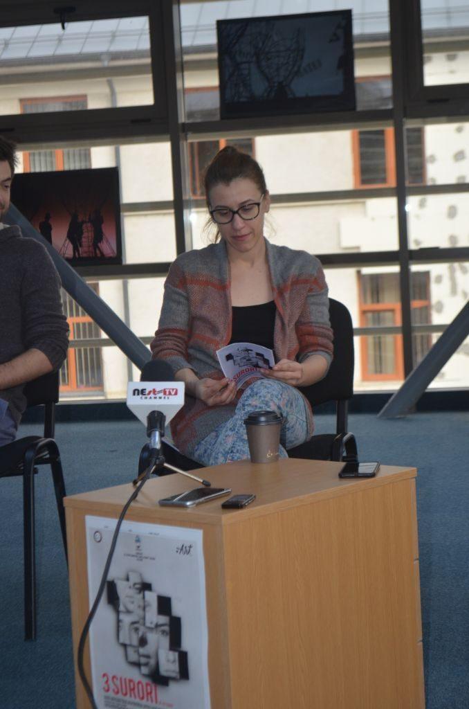 Catrinel Bejenariu, coordonatoarea proiectului