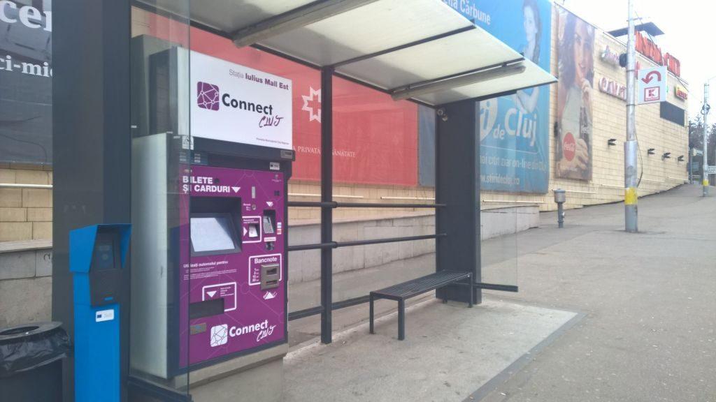 Statie de autobuz municipiul Cluj