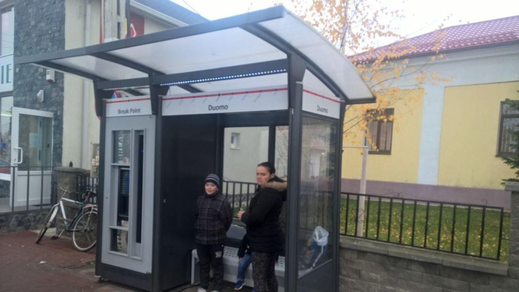 Statie de autobuz Dumbraveni