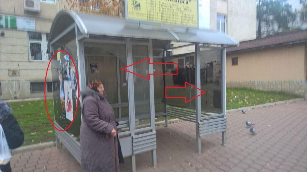 Dan Cușnir: Statie de autobuz municipiul Suceava