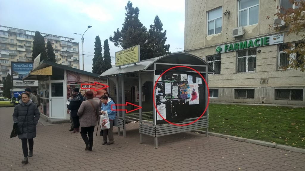 Statie de autobuz municipiul Suceava
