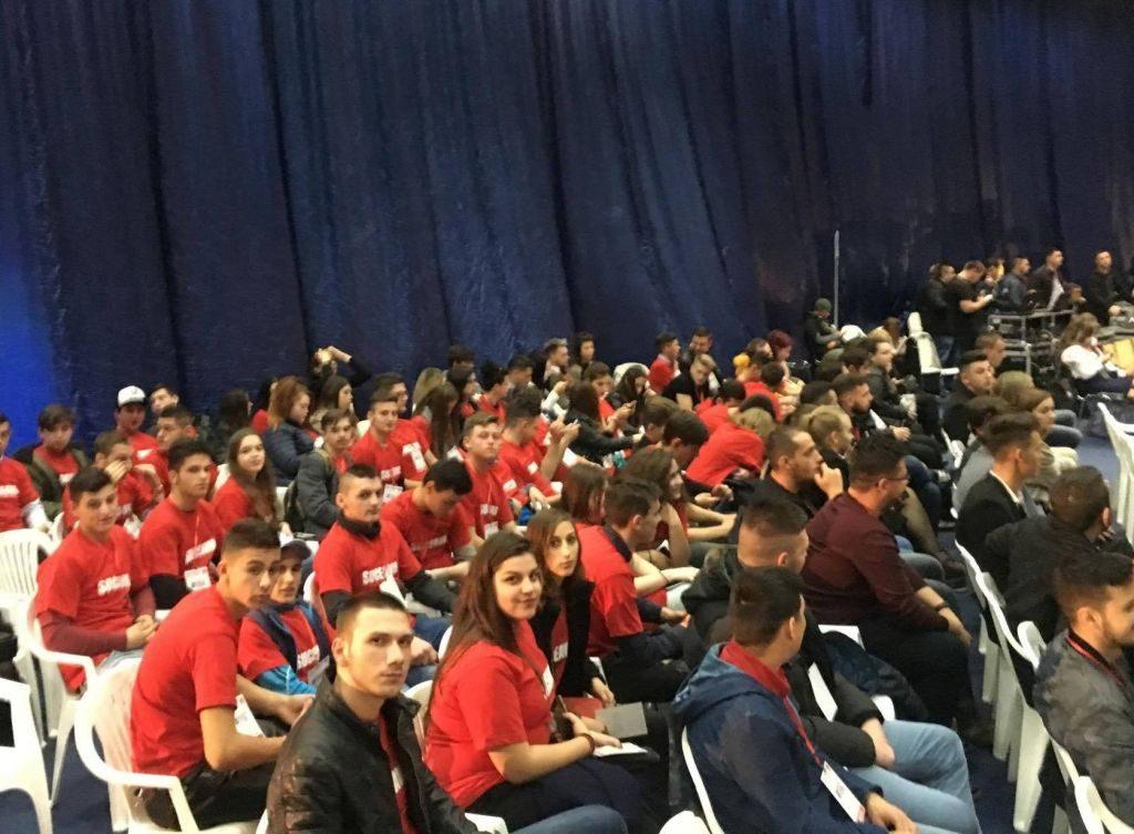 O sută de tineri suceveni au participat la Congresul Național al TSD