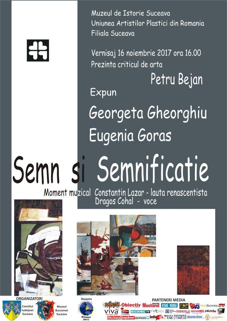 """Vernisajul expoziției de pictură și tapiserie """"Semn și semnificație"""", la Muzeul de Istorie Suceava"""