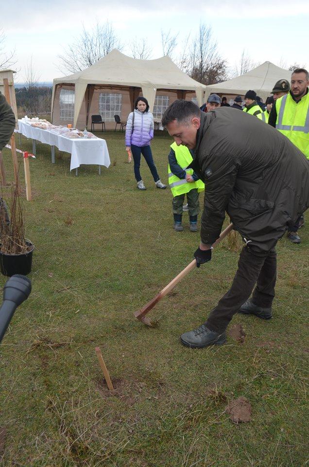 """S-a dat startul proiectului """"Pădurea de Mâine"""", plantându-se 21 de mii de arbori"""