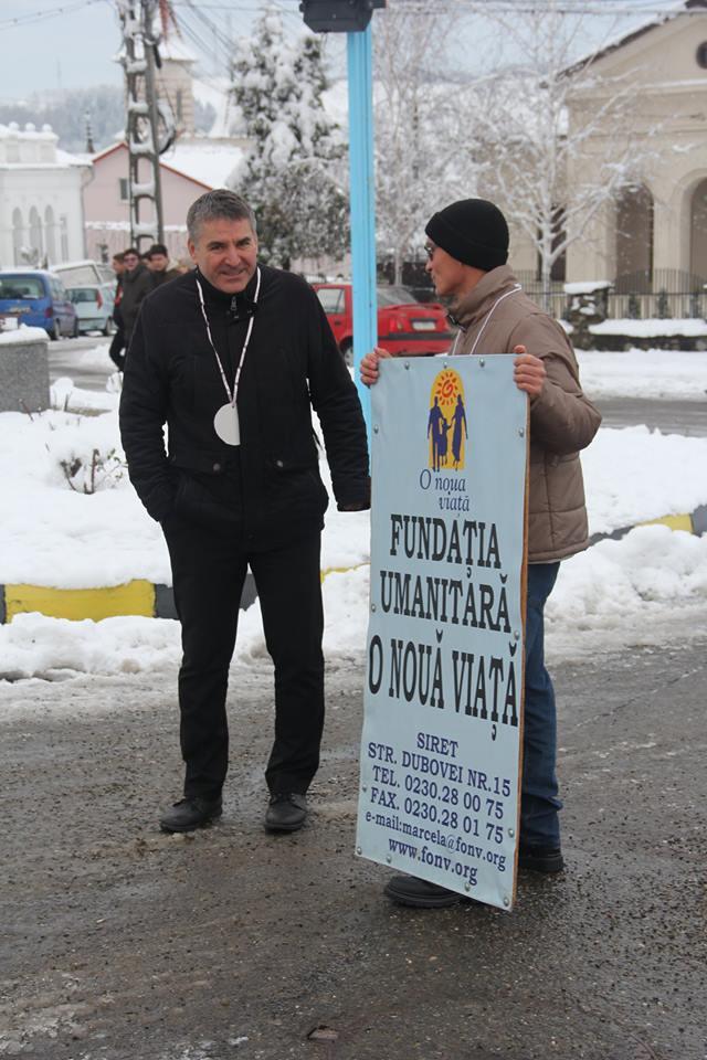 Primarul orașului Siret, Adrian Popoiu