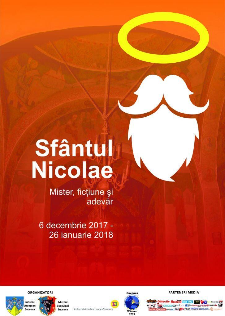 """Expoziția """"Sf. Nicolae - Mister, ficțiune și adevăr"""", la Muzeul de Istorie Suceava"""