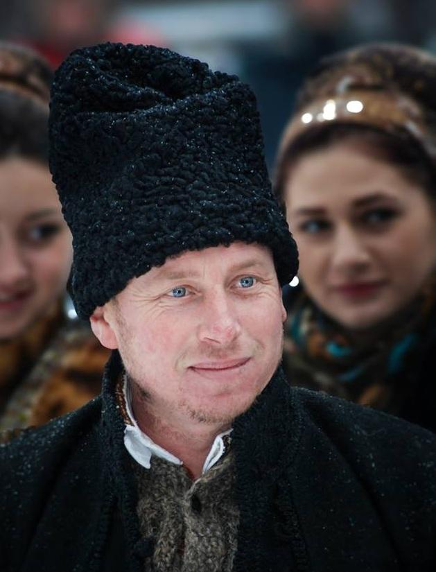 """Gheorghe Străjer, coordonatorul ansamblului """"Plaiurile Pojorîtei"""""""