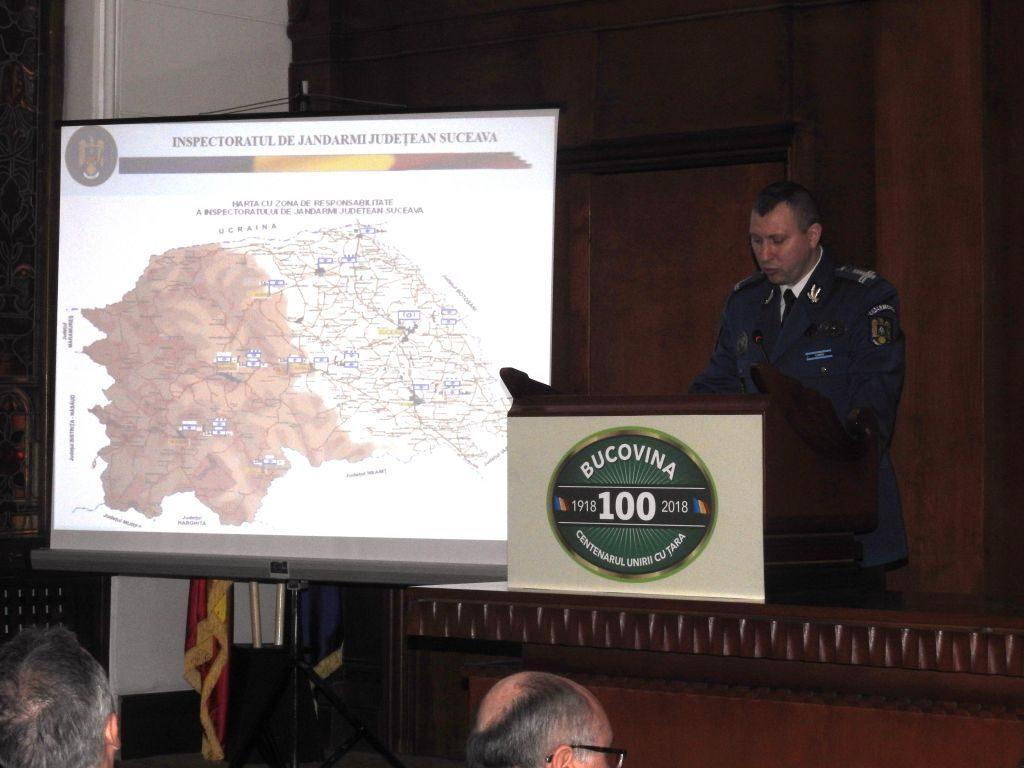 Jandarmii suceveni au planificat, organizat şi executat peste 32.000 de misiuni de ordine publică, în 2017
