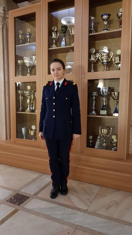 Oana Robu - premiul I la olimpiada de lingvistică, faza pe judeţ