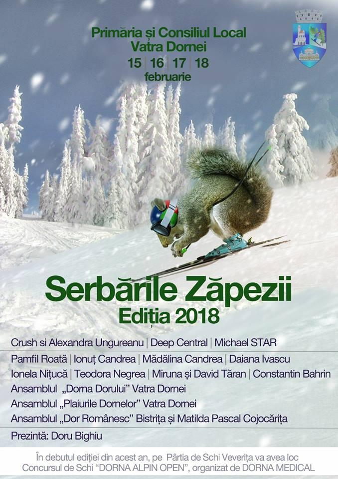 Vatra Dornei se pregătește pentru Serbările Zăpezii. Vezi care este programul manifestărilor