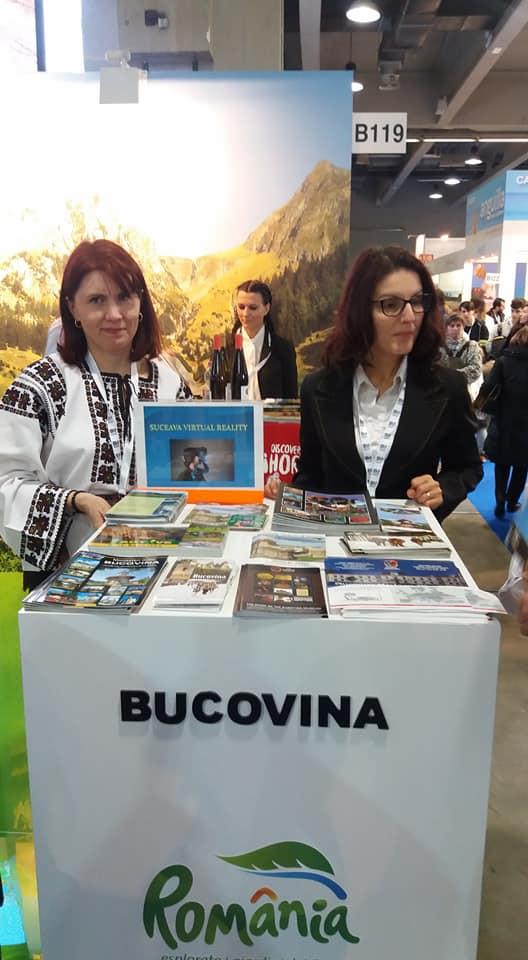 Bucovina, promovată la Târgul Internațional deTurismBIT Milano 2018