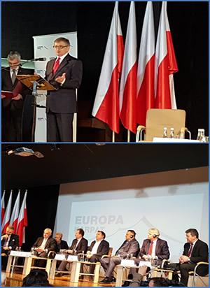 Conferință Europa Carpaților cu participarea prorectorului stefan purici