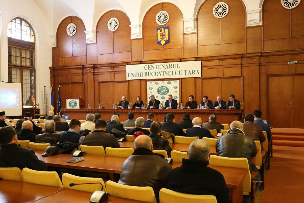 intalnire prefectura cu ministrul apelor si padurilor Ioan Deneș