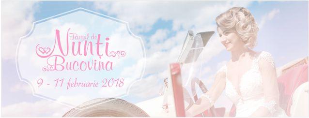 Targul de nunti 2018 organizat de Camera de Comert si Industrie Suceava la Iulius Mall  în perioada 9-11 februarie