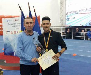Andrei Dorin Rusu a reuşit astazi sa castige proba de 1500 metri la Campionatul Național de Seniori şi Tineret desfasurat la Bucureşti