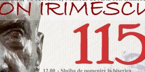 Ion Irimescu omagiat la 115 ani la Falticeni in data de 19 februarie 2018