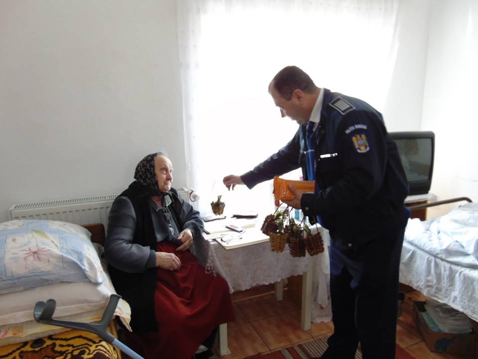 Acțiuni ale oamenilor legii, pentru prevenirea victimizării persoanelor vârstnice