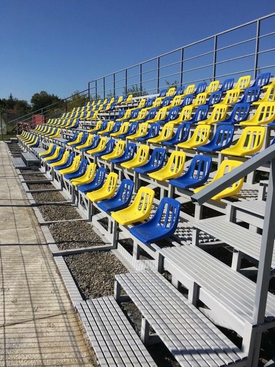 """Modernizarea tribunei stadionului """"Laurnețiu Strapuc"""""""