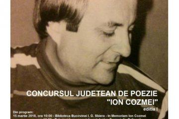 concurs Ion Cozmei organizat de Carmen Steiciuc