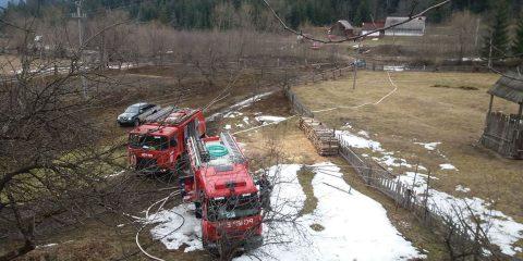 masini de pompieri interventie brodina