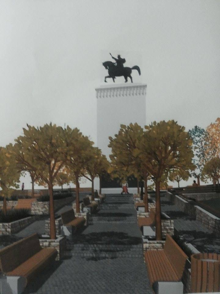 statuia ecvestra a domnitorului stefan cel mare va fi reabilitata