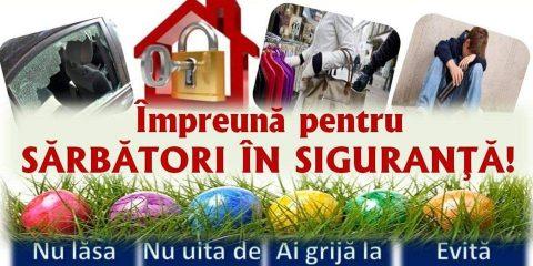 Sarbatori de Paste in Siguranta 2018 IPJ Suceava