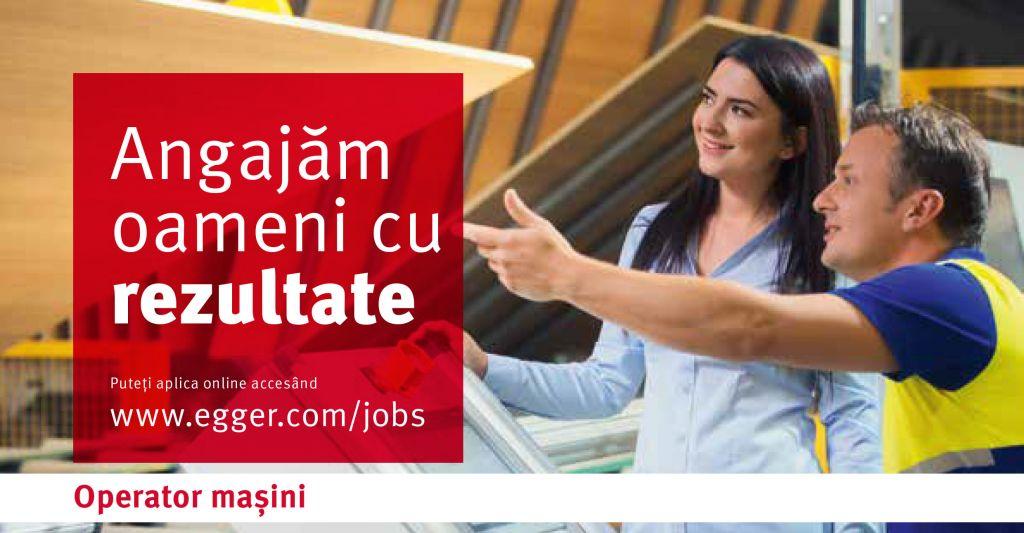 anunt angajare Operator masini