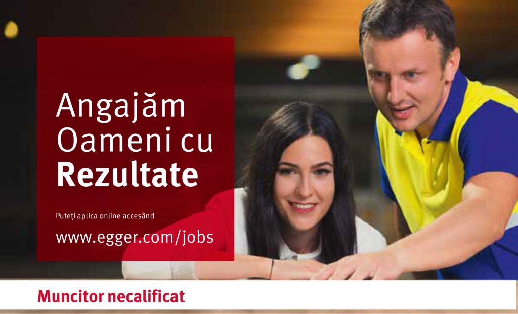 Muncitor necalificat Egger
