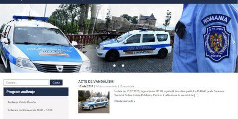site politia locala suceava