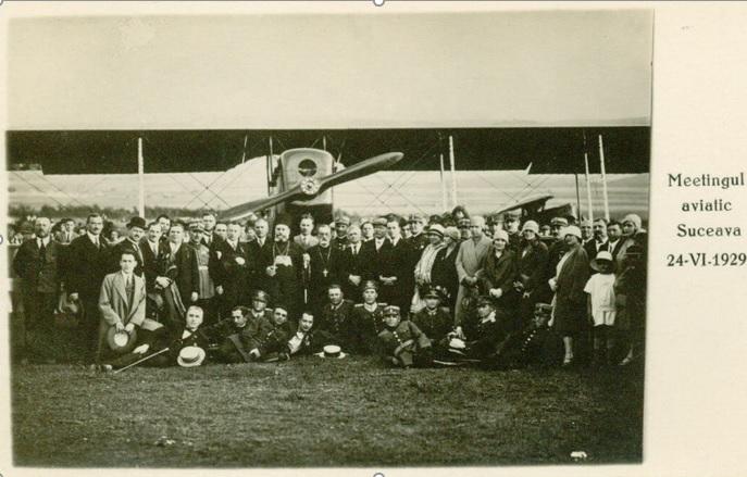Miting aviatic Suceava 1929