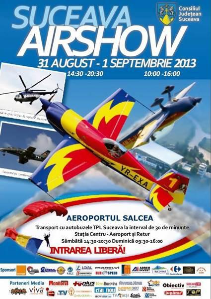 Afisul Suceava Air Show 2013