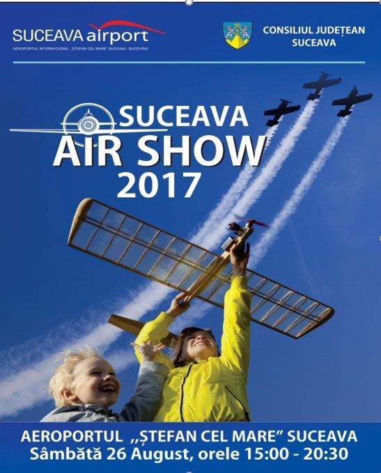 Afișul Suceava Air Show 2017