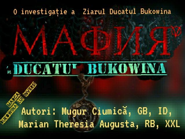 sigla autori Bukowina lui Invers
